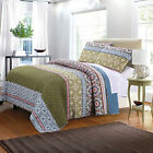 Greenland Shangri-La Multi Colored Quilt Set