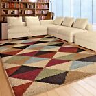 RUGS AREA RUGS CARPET 8x10 SHAG RUGS AREA RUG MODERN LARGE GEOMERTIC COOL RUGS ~