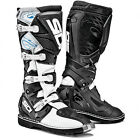 NEW SIDI X3 MX DIRTBIKE OFFROAD BOOTS BLACK/WHITE ALL SIZES