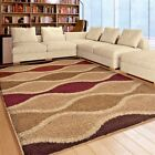 RUGS AREA RUGS CARPET 8x10 SHAG RUGS AREA RUG MODERN LARGE GEOMETRIC PLUSH RUGS