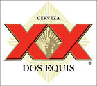 Dos Equis Sticker Decal *different Sizes* Mexican Beer Cerveza Bumper Bar Wall