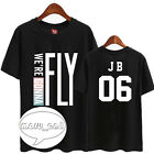 GOT7 KPOP TSHIRT TEE T-Shirts Kostüme FLIGHT LOG FLY JACKSON BAMBAM MARK JB JR