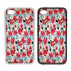 Retro Floral Wallpaper -Rubber and Plastic Phone Cover Case- Abstract Design