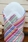 LUXURY NEWBORN BABY SWADDLE WRAP SLEEPING BLANKET   DUVET   BAG