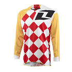 One Industries Vapor Jersey (Yellow/Red) All Sizes