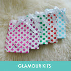50 LOVE IS SWEET DOTS RETRO CANDY BAGS SHOP BAR SWEETIE BUFFET TABLE 5 colour