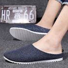 New Men's Casual Canvas Slip Ons Sport Beach Loafers Shoes Sandals Slippers Z151