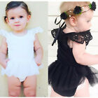 Infant Newborn Baby Girls Tutu Party Romper Bodysuit Playsuit Clothes 0-18M Gift
