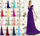 New Chiffon Woman's Bridesmaid Formal Evening Party Prom Gown Dress Size 6-22