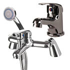 Complete Bathroom Tap Pack inc. Basin Mixer, Bath Tap & Wastes