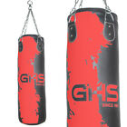 GHS Unfilled 3ft Boxing Punch Bags Sets Heavy Duty Punchbags Punching Kick MMA
