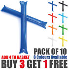 European Cup Cheering Balloon Sticks Clappers Thunder Inflatable Tube Pong Bong