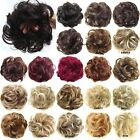 Synthetic Wave Curly Flexible Scrunchie Hair Bun Chignon Donut Wrap For Ponytail