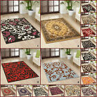 MEDIUM LARGE MODERN ALPHA RED BLACK MULTI COLOUR  CONTEMPORARY RUGS FOR SALE