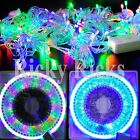 100 LED Christmas Tree Lights String Outdoor Decorations Show Musical USB Strip