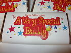 FATHER'S DAY GIFT CHOCOLATE BAR WRAPPER DADDY DAD GRANDAD VERY SPECIAL