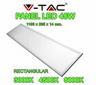 PLACA PANTALLA PANEL LED V-TAC 45W 1195X295X14MM SUPER SLIM 3600 LUMENES LAMPARA