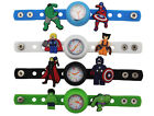 Kids DIY Watch + 13 The Tvengers Super Hero Iron Man Super Man Charms Party Gift