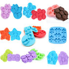 Silicone Ice Cube Tray Fondant Cake Chocolate Mold Baking Decor Mould DIY Tools