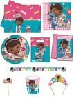 Disney DOC MCSTUFFINS Birthday PARTY RANGE (Decorations/Tableware/Balloons)