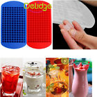 Silicone Ice Tray Mould 160 Ice Cubes Frozen Cube Bar Pudding  Mold Tool