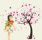 Giant Blowing Tree Flower Blossom Removable Wall Stickers Kids Nursery Decor