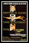Home Wall Art Print - Vintage Movie Film Poster - GOLDFINGER 2 - A4,A3,A2,A1 £19.99 GBP on eBay
