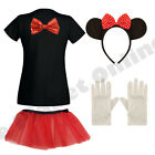 CHILDRENS KIDS GIRLS CHILD MINNIE MOUSE FANCY DRESS COSTUME MICKEY TV FILM