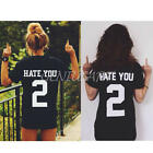 Summer Womens Sexy Fashion Loose Short Sleeve Black Tops T-Shirt Lovers Blouse
