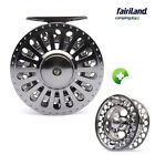 70/80/90/100mm fly reel COMBO aluminum fly fishing reel 2 styles w/ spare spool