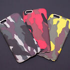 Military Camo Fitted Skin Case Matte Surface for iPhone 6 / S / Plus