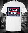Donald Trump 16 Quote Flag T-shirt Future President Election Make America Great