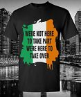 Ireland quote T-Shirt UFC MMA Conor McGregor Notorious Red panty night Dublin