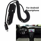 5V 2.1A Fast Charger Power Auto Car with Coiled Spring USB Cable For Android ap