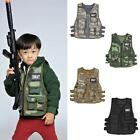 New Kids Children Tactical CS Game Training Combat Camo Military Uniform Vest