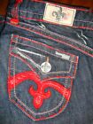 Laguna Beach Damen Jeans Crystal Cove  RED STITCH  W24 - W31