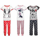 Disney Minnie Mouse Official Gift Ladies Pajamas