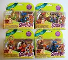 """SCOOBY DOO PIRATE CREW Choice of 2 x 3"""" Figure Blister Pack - Great Cake Toppers"""