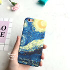 van gogh starry night original - Original Painted Art Van Gogh Starry Night Polish Hard Case For iPhone 6 6s Plus