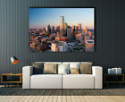 """Dallas Cityscape,Skyline Texas, Huge canvas print, wall art , up to 60""""x 40"""","""