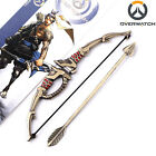 New Game Overwatch Hero Hanzo Weapon Model Keychain Key Ring Pendant Cos Jewelry