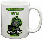 Hulk Gym Lifting Weights Green Slogan Novelty PRINTED MUG MUGS-GIFT, PRESENT