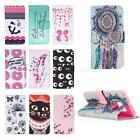Art Painted Pattern PU Leather Fold Wallet Case for Samsung Galaxy S6 Edge JMHG