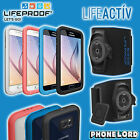 Genuine Lifeproof Fre Frē waterproof case cover Samsung Galaxy S6 + Arm Band