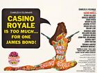 Home Wall Art Print - Vintage Movie Film Poster - CASINO ROYALE - A4,A3,A2,A1 £9.59 GBP on eBay