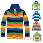 New Autumn spring 95%cotton kids children tops clothes boys t shirt Long sleeve