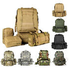 55L Molle Outdoor Military Tactical Bag Camping Hiking Trekking Backpack -3D New