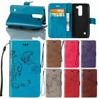 Luxury for Nokia Lumia Butterfly Flip Leather Wallet Card Clip Stand Case Cover