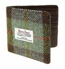 Harris Tweed And Real Leather Gents Card Wallet Available In 3 Colours LB2507