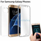 For Samsung Galaxy Note 5/S6/S7 Crystal Clear Cover Full Body Protective Case